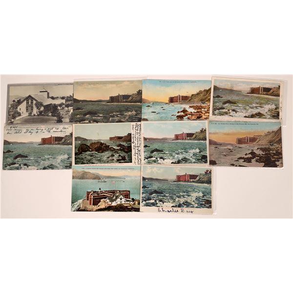 San Francisco Military Fort Postcard Group  [130361]