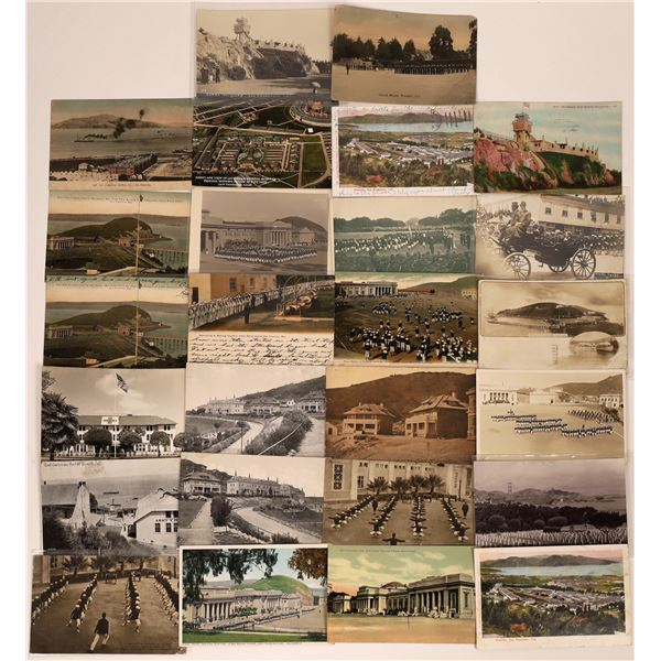 San Francisco Military Related Postcard Collection  [130351]