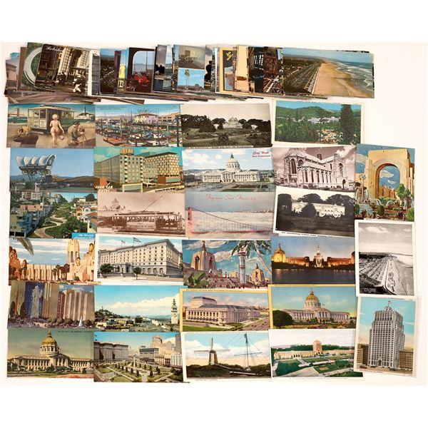 San Francisco Post 1940+ Postcard Collection – Over 100  [130380]