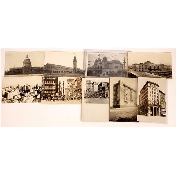 San Francisco RPC Postcard Group of Older Buildings and Street Scenes  [130385]