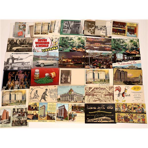 San Francisco, CA Advertising Post Card Collection (50)  [138717]