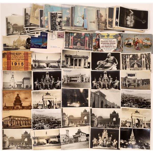 San Francisco, CA Expositions (1915 & 1939) Post Card Collection (106)  [139046]