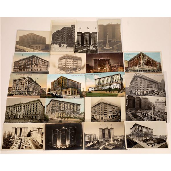 San Francisco's Great Historic Hotels Postcard Collection  [130374]