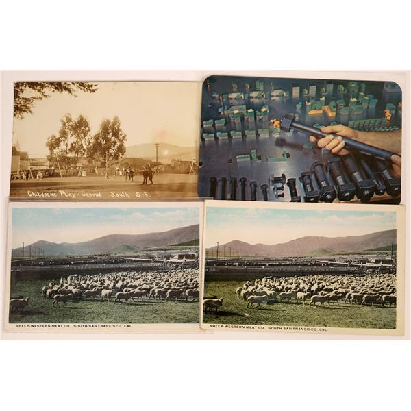South San Francisco Rare RPC & Other Postcards  [130371]