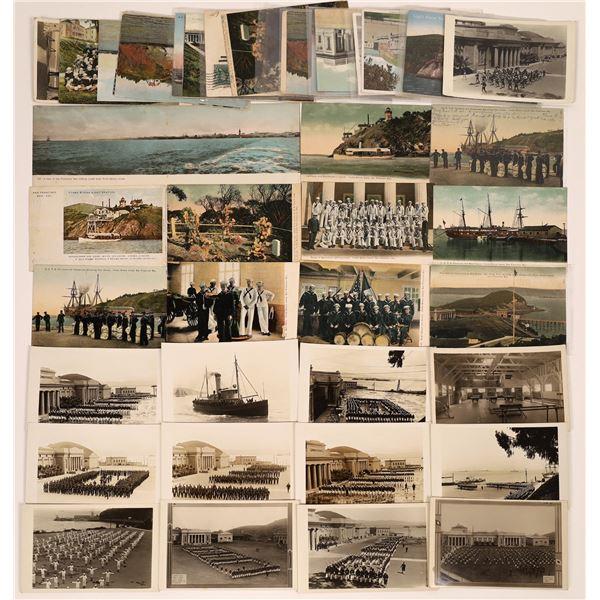Yerba Buena Island / Military Postcard Group  [130362]