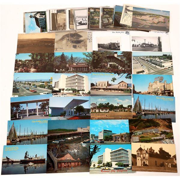 San Mateo County, California Postcard Collection  [130318]