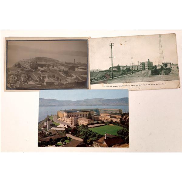 San Quentin Prison Postcard Group  [130319]