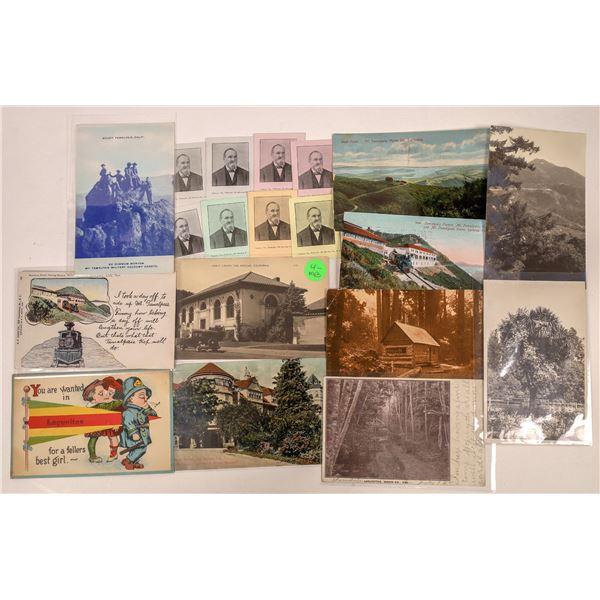 San Rafael Postcard Collection with Pioneer Card  [130320]
