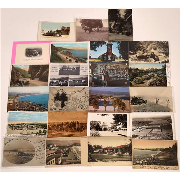 Santa Barbara Postcard Collection  [130350]
