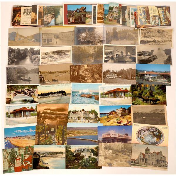 Santa Cruz County Post Card Collection (approx. 80 pieces)  [138214]