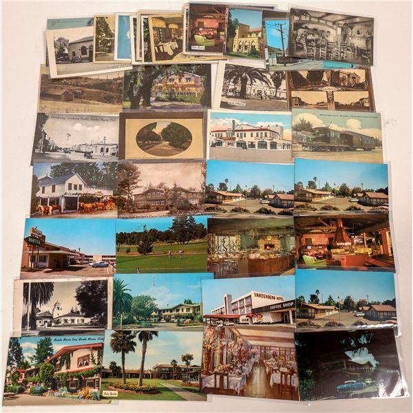 Santa Maria, California Large Postcard Collection  [130321]