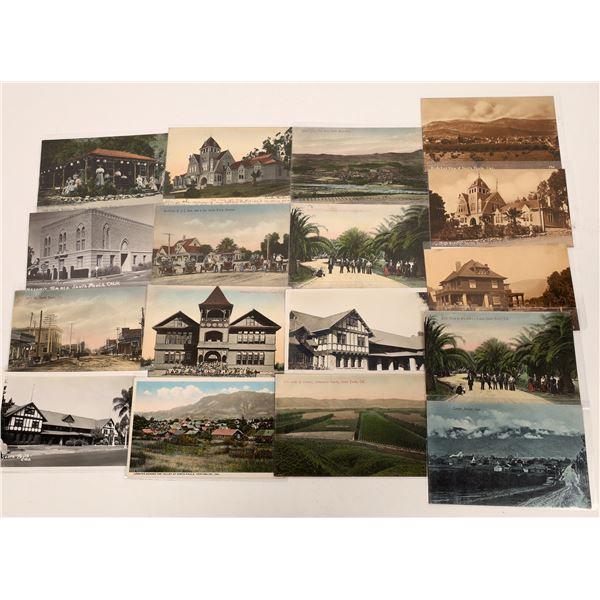 Santa Paula Postcard Collection  [130322]