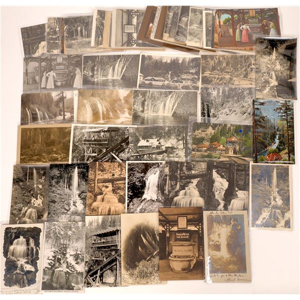 Shasta Springs Resort Post Card Collection (approx. 60 pieces total)  [138217]
