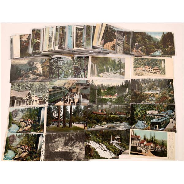 Shasta, Trinity, Siskiyou Color Postcard Collection   [130447]