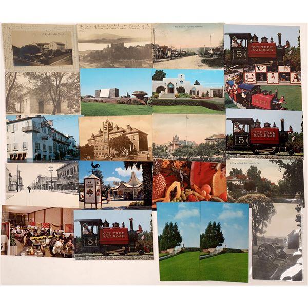Solano County, California Postcard Collection  [130325]