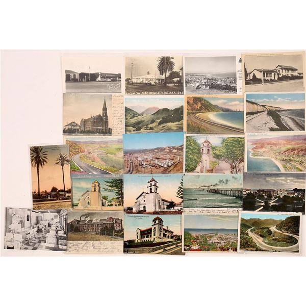 Ventura, California and her Beaches Postcard Collection  [130339]