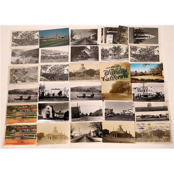 Postcard Collection: Williams California  [136207]