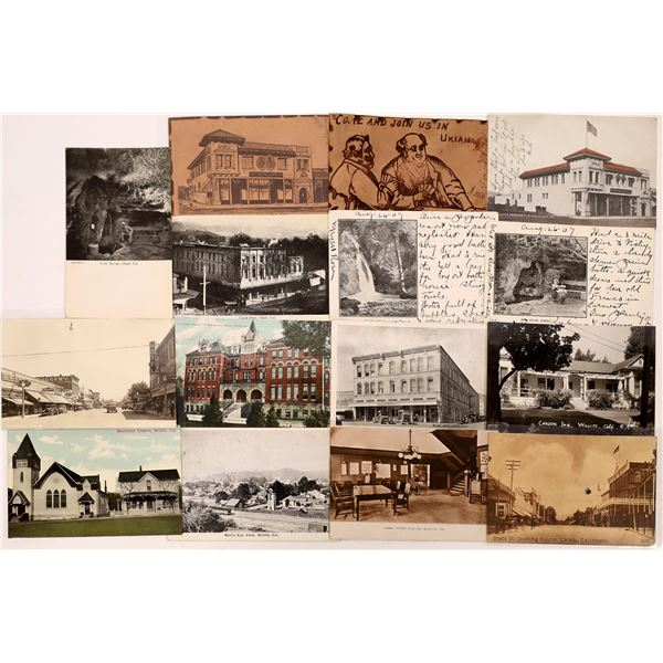 Ukiah County Postcard Collection   [130337]