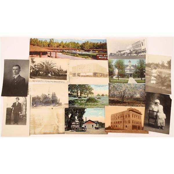 Willows, Glenn County, California Postcard Collection  [130338]