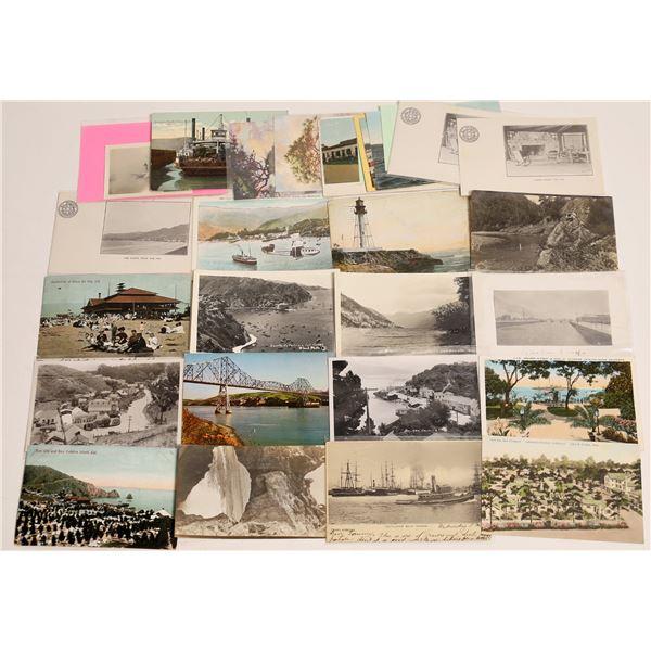 California Coastal Postcard Collection  [130426]