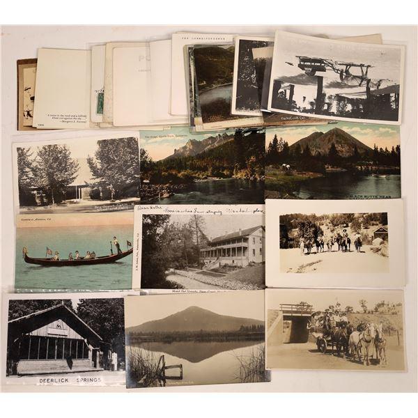 California Outdoors Postcard Collection  [130434]
