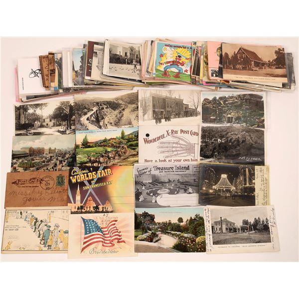 Ken Prag California Grab Bag Postcard Lot  [130431]