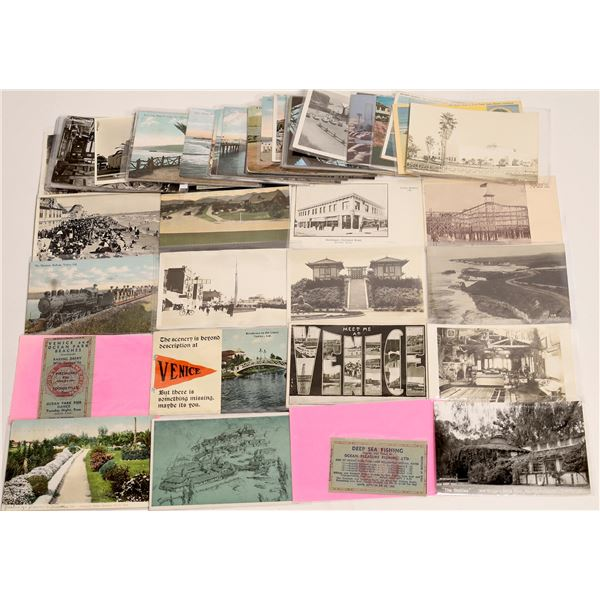 Pacific Palisade to San Pedro California Coast Postcard Collection #1  [130404]