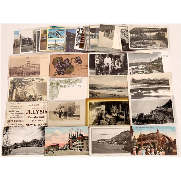 Pacific Palisade to San Pedro California Coast Postcard Collection #2  [130405]