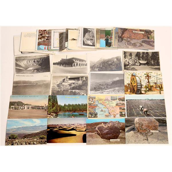 Southern California Desert Postcard Collection  [130425]