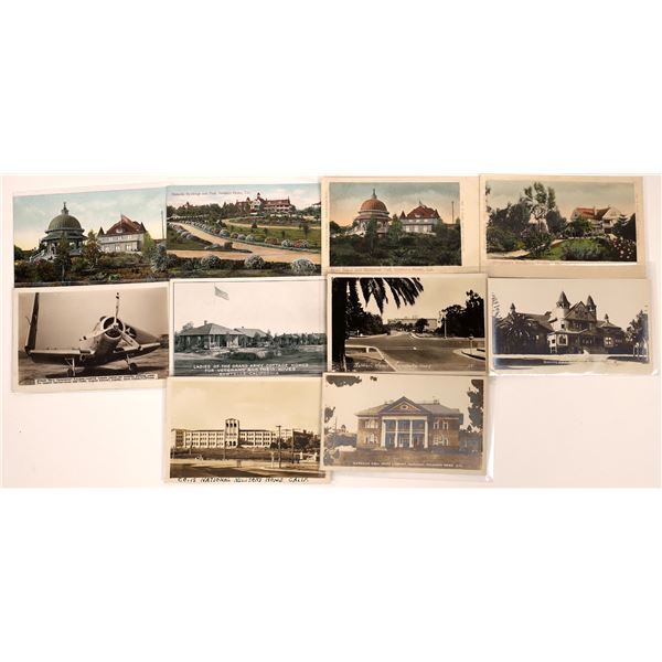 Southern California Soldiers/Veterans Homes Post Card Collection (10)  [139035]