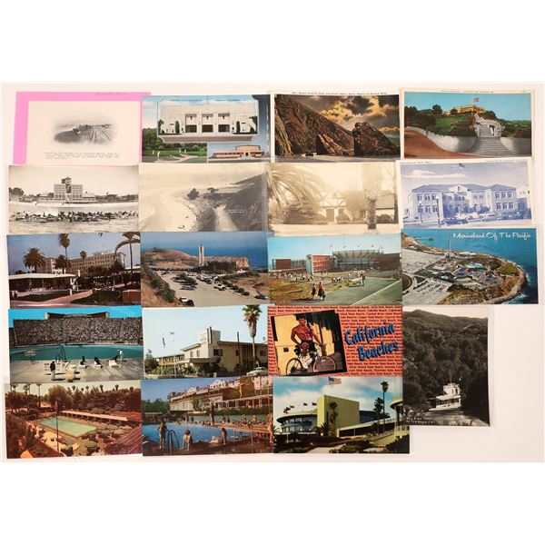South Bay to Palos Verdes, California Post Card Collection (19)  [139051]