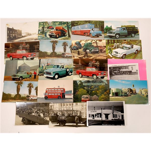 Truck Postcard Collection  [130354]