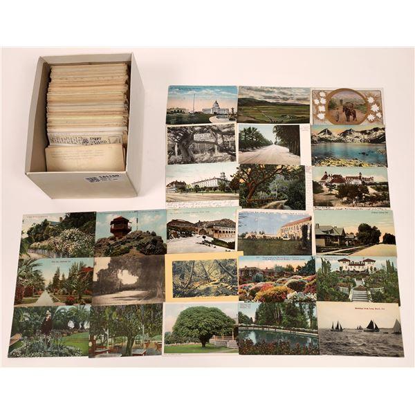 California Printed Post Card Lot (330+)  [141150]