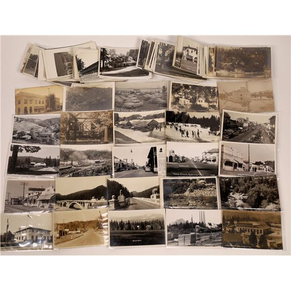 Northern California Postcards Mostly RPPC Group (70+)  [141142]