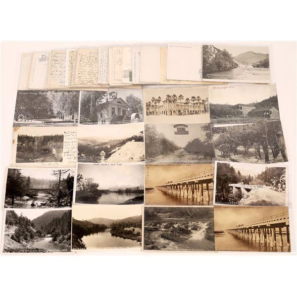 North Central California Postcard Collection  [130430]