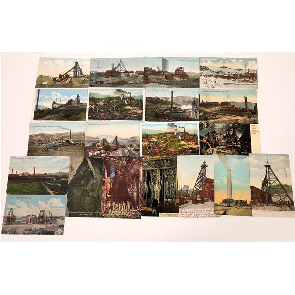 Montana Mining Lithograph Postcards (20)  [139456]