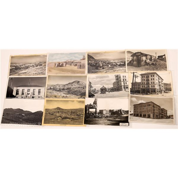 Goldfield & Tonopah, Early Real Photo Postcards (12)  [139462]