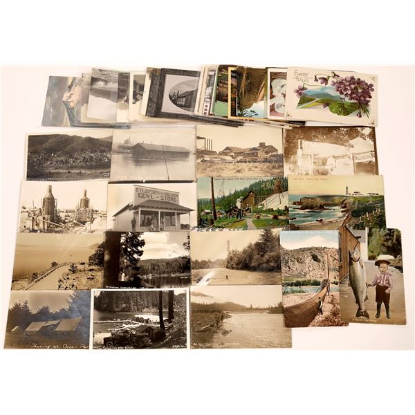 Oregon Postcard Collection - Very Nice Group  [130419]