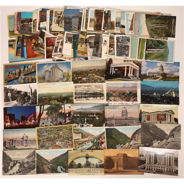 Salt Lake City Post Card Collection (approx. 150 pieces)  [138213]