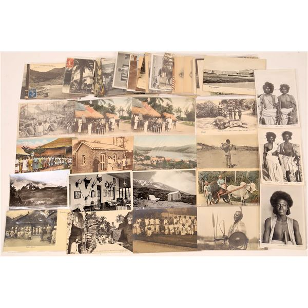 Vintage Postcard Collection: Various African Countries  [136211]