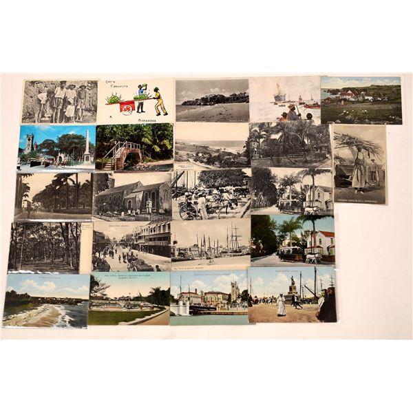 Postcard Collection: Vintage Barbados Postcards  [136208]