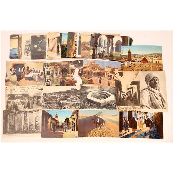 Postcard Collection: Vintage Tunisia Cards  [136204]