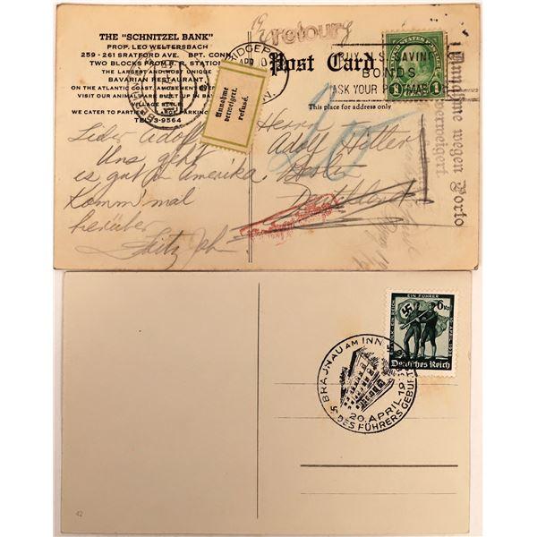 Adolf Hitler Postcards  [136193]