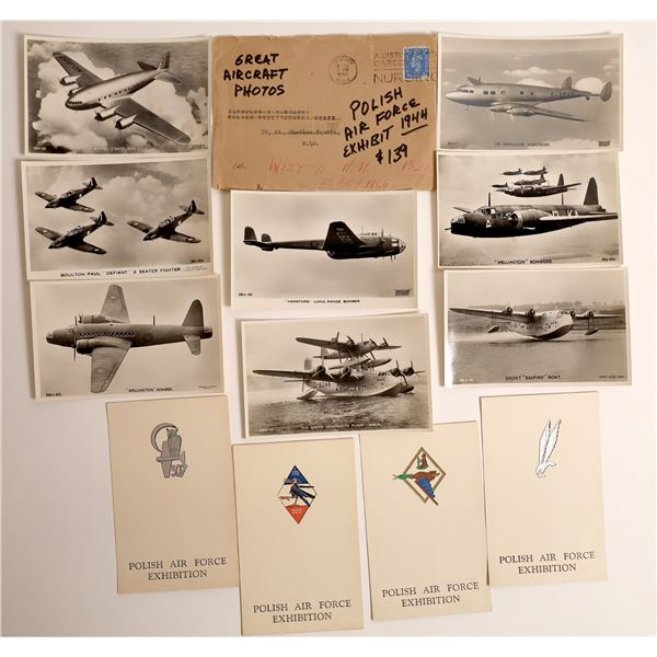 Real Photo Postcards of World War Two Aircraft  [138548]