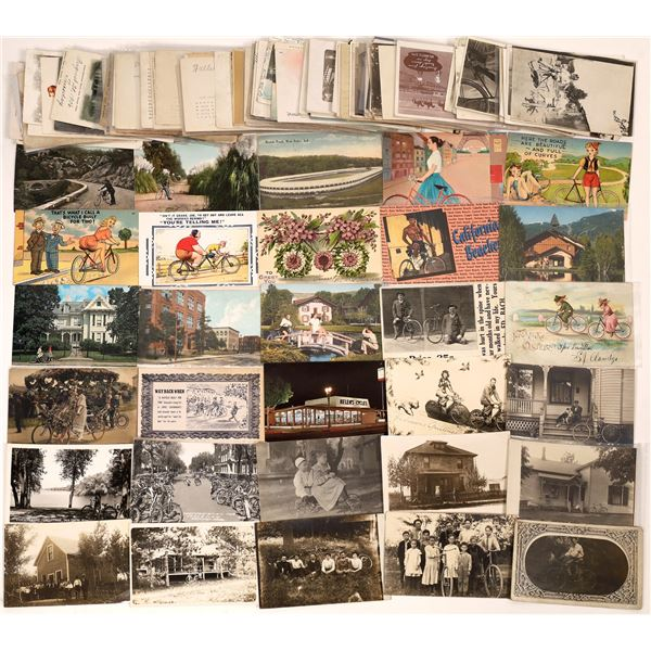 Bicycle Postcard Collection  [139110]