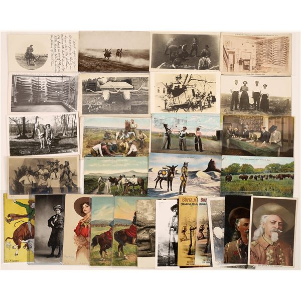 Cowboy and Cowgirl Postcard Collection  [139085]