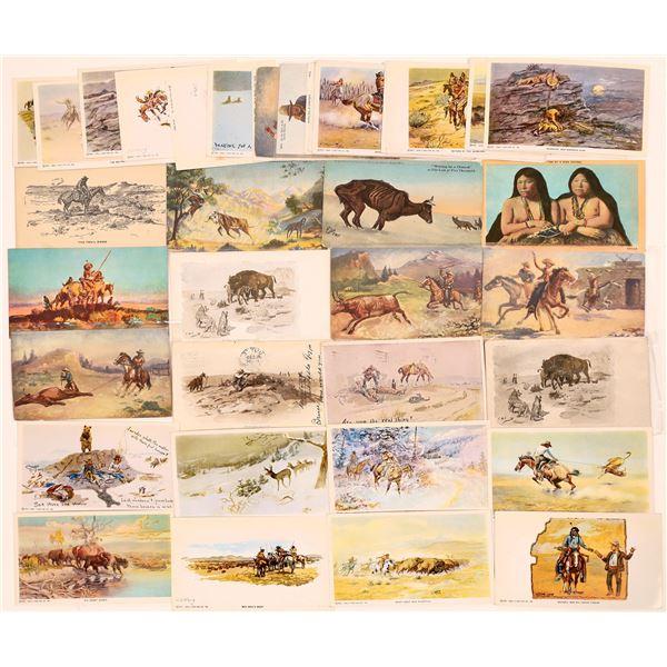 Cowboy Art Postcard Collection  [139086]