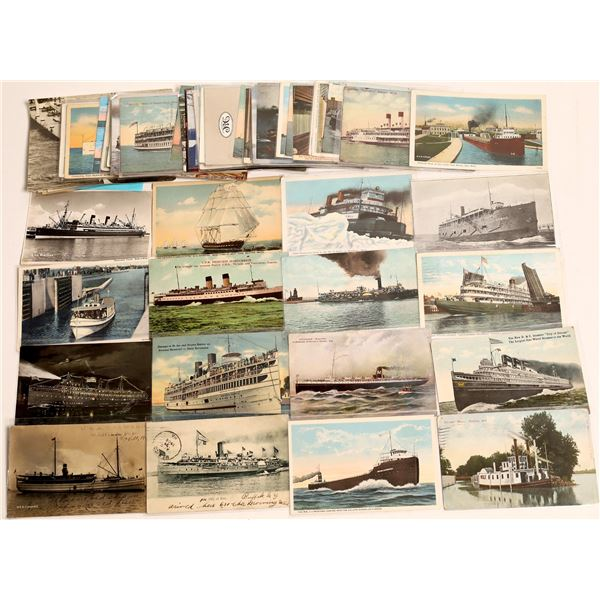 Ship Postcard Collection – about 70  [130416]