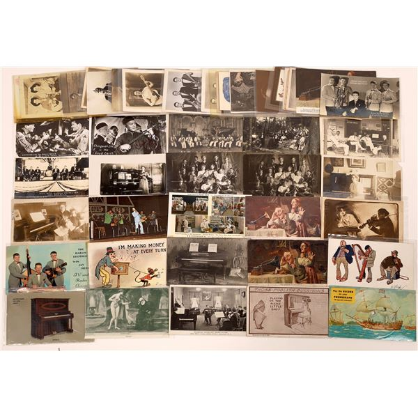 Fantastic, Large Music Postcard Collection  [139088]