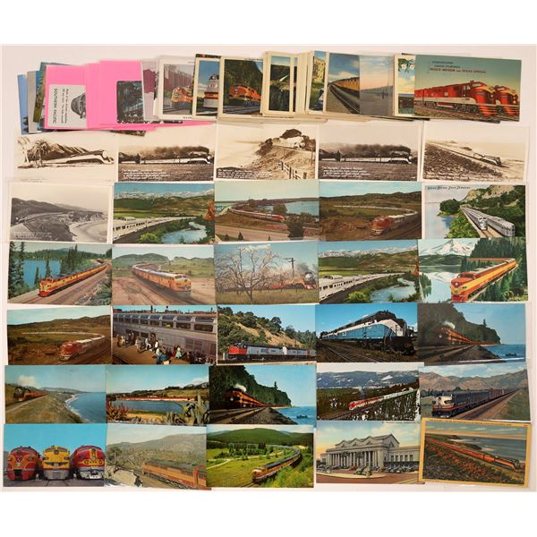 Newer Trains Post Card Collection (78)  [139053]